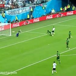 بازی ارژانتینvsنیجریه ک...