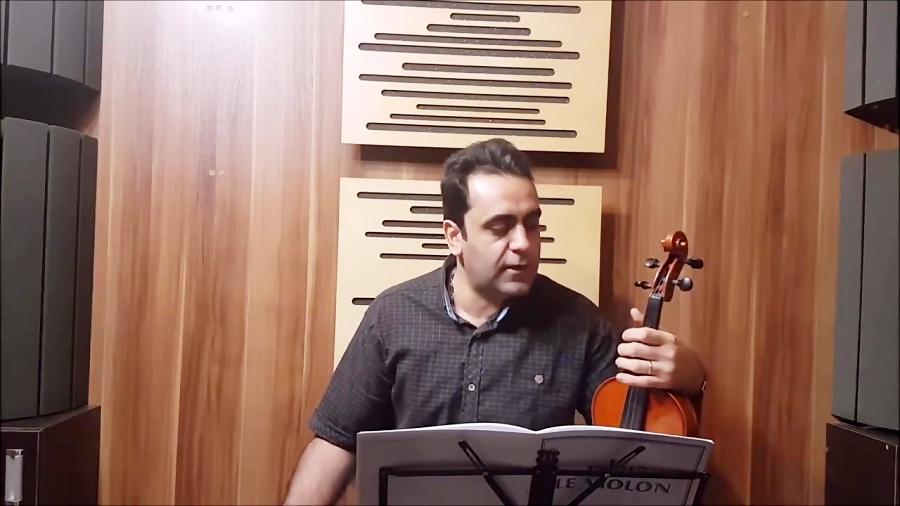 تمرین سرعت انگشت تکنیکها ایمان ملکی ویولن