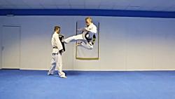 Taekwondo Jump Flying Side Kick Tutorial | GNT How to