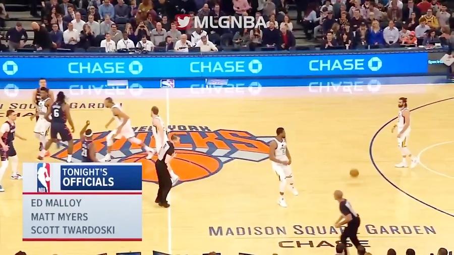 خلاصه بازی نیویورک نیکس مقابل یوتا جز