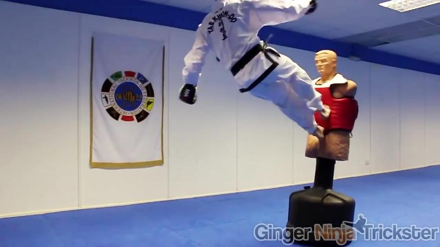 Taekwondo Kicking & Training Sampler on the BOB XL