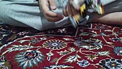 سازه ی ابوالفضل برای مسابقه ی هفتم کانال آقا راوی