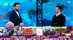 امین حیایى و احسان علیخانى از شكستن ضبط در صدای و سیمایی ایران حرف می زند