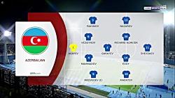 خلاصه بازی کرواسی - آذربایجان - مقدماتی یورو 2020