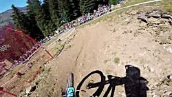 قهرمانی دوچرخه کوهستان...