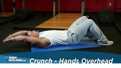 Crunch - Hands Overhead | تمرینات ...