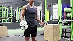 چگونه عضلات بازویی بزر...