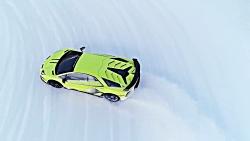 رانندگی در برف با LM002 و ...