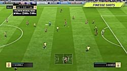 آموزش حرکات بازی فیفا 18