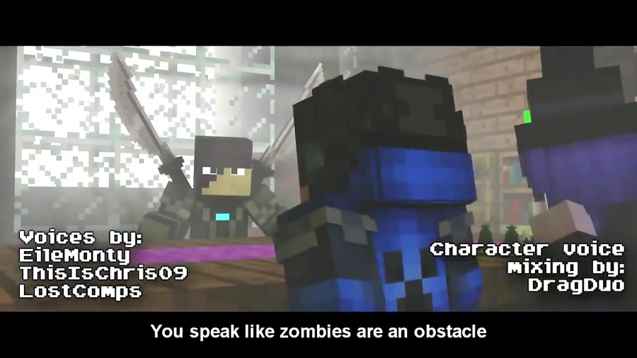 """""""Wither Heart"""" - A Minecraft Original Music Video ♪"""