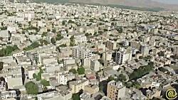 تصاویر هوایی بسیاز زیبا از میدان امام خمینی(ره) همدان_مهد تاریخ و تمدن