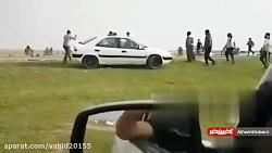 تصادف فجیع موتورسیکلت ...