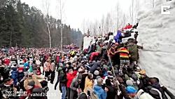 فستیوال سنتی برف بازی د...