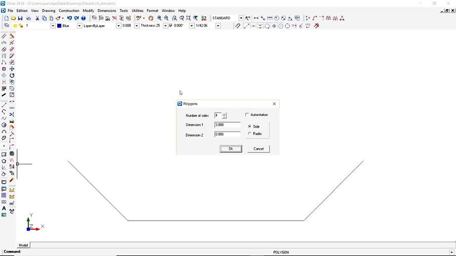 آموزش نرم افزار Dibac CAD ( طراحی داخلی و معماری) قسمت 35