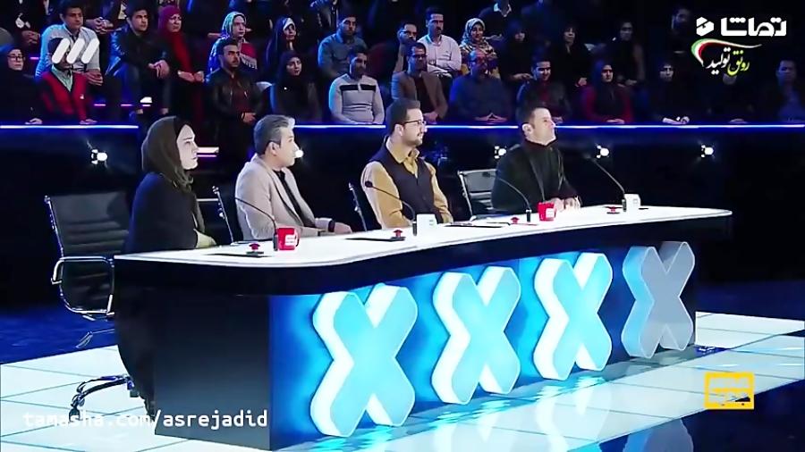 اجرای بسیار متفاوت و دیدنی سایه بازی در برنامه عصر جدید احسان علیخانی