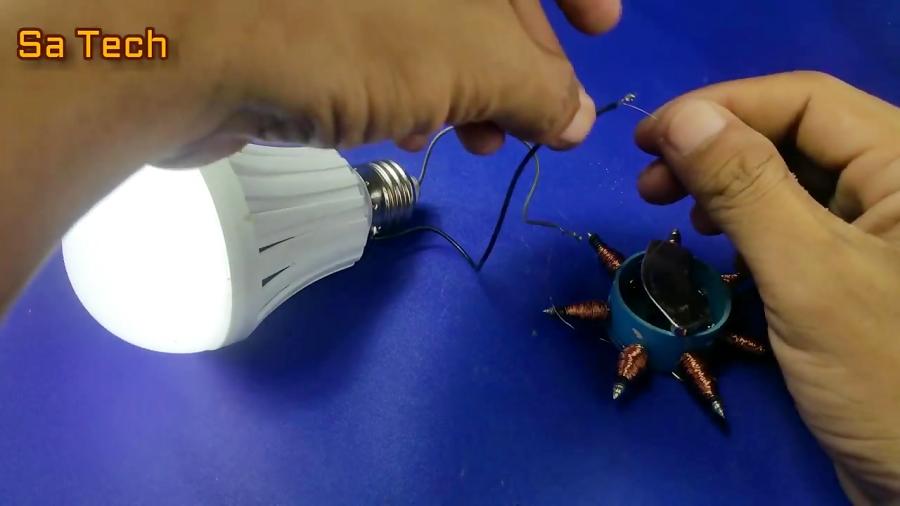 How to make free energy generator - simple