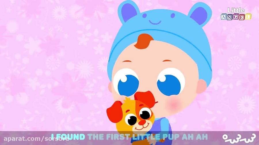 کارتون little puppies   little angel