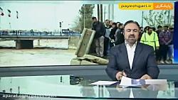 بازدید  وزیر ارتباطات از مناطق سیل زده شیراز