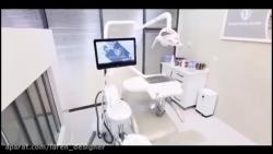 طراحی و اجرای مطب دندانپزشکی دکتر ترکی،دکتر میرلوحی -گروه طراحی لارن اصفهان