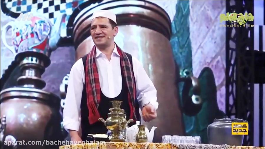 علی قمی قهوه چی معروف و بامزه تهرانی برنامه استعدادیابی عصر جدید رو ترکوند