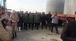 بازدید فرمانده سپاه از  روند احداث پل در مناطق سیل زده