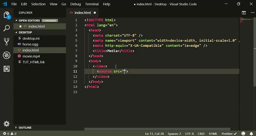 قسمت هجدهم آموزش HTML5