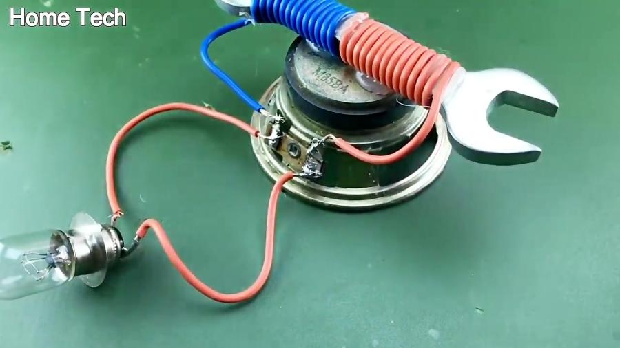 Free Energy Using Speaker Magnet Technology For 2019