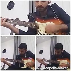 آهنگ زدن زیبای گیتاریس...