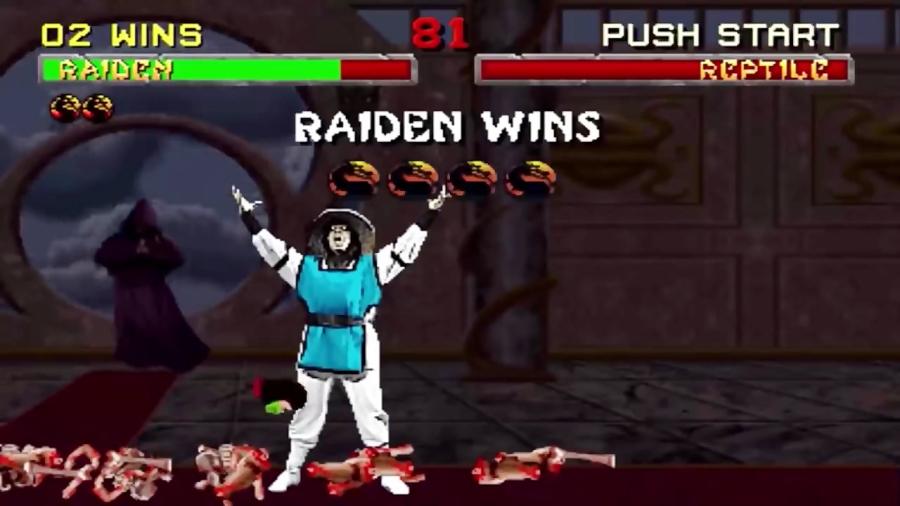 تاریخچه شخصیت Raiden در بازی مورتال کمبت 1 تا مورتال کمبت 11