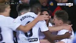 خلاصه بازی والنسیا 2-1 رئال مادرید