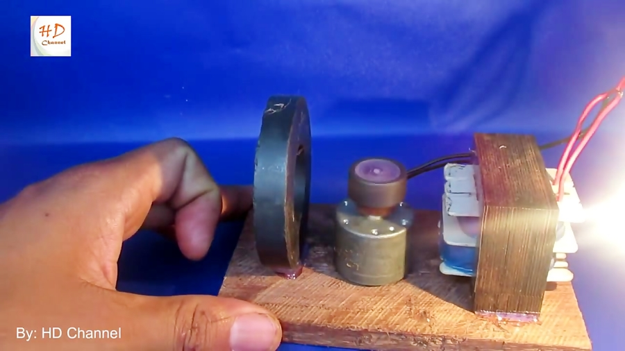 Amazing free energy generator using old product in the pass very easy