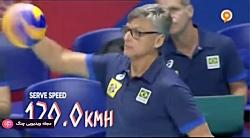 والیبال - آمریکا - برزیل
