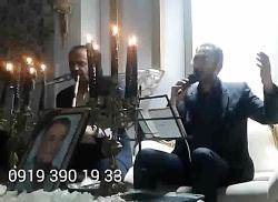 مداحی مراسم ختم و مولودی با نوازنده نی 09193901933 نی و دف خواننده عرفانی موسیقی