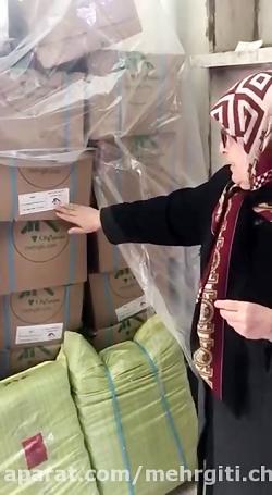 بسته بندی و ارسال بسته های کمک های مردمی به مناطق آسیب دیده از سیل استان لرستان