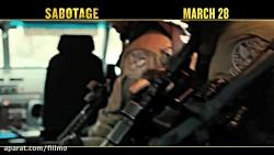 آنونس فیلم سینمایی «سابوتاژ»