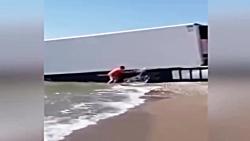اتفاقات وحشتناک برای کامیون ها و تریلی ها
