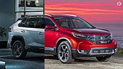 مقایسه هوندا CR-V 2019 و تو...