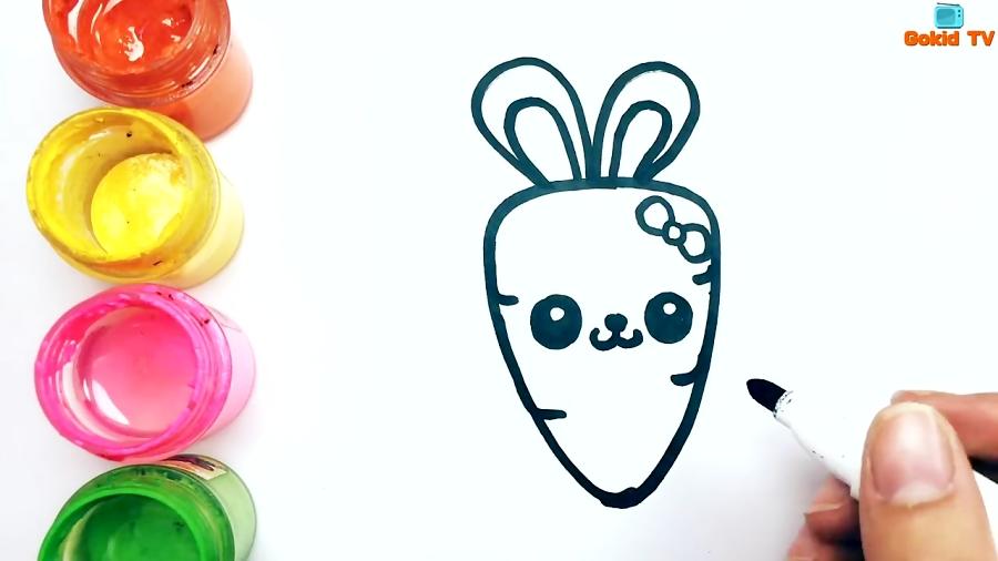 Como Dibujar Una Zanahoria Kawaii Dibujos Para Dibujar Gokid Tv En esta ocasión tú mismo lo puedes hacer, ya que presentamos aprende a dibujar kawaii: como dibujar una zanahoria kawaii dibujos para dibujar gokid tv