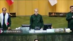 نمایندگان مجلس در حمای...