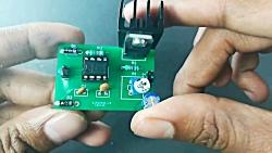 awesome idea using dc motor || motor+led c...