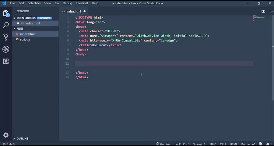 خرده کد ها در VsCode