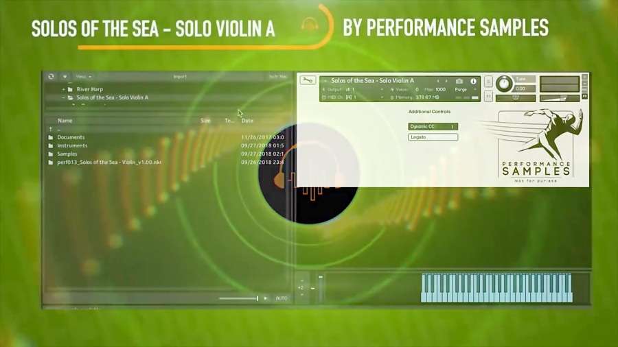 First Look: Solos of The Sea Solo Violin A by Performance Samples