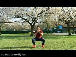 حرکات ورزشی ساده برای ش...