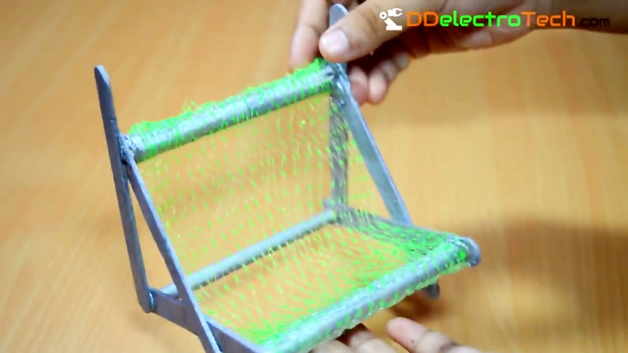 Make a Mobile Phone Holder / Mobile stand from ice cream sticks - Easy Tutorial