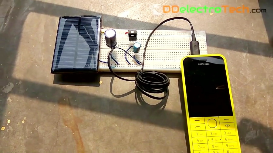 Charge Your Cellphone By Using Free Energy - Build a Solar Charger