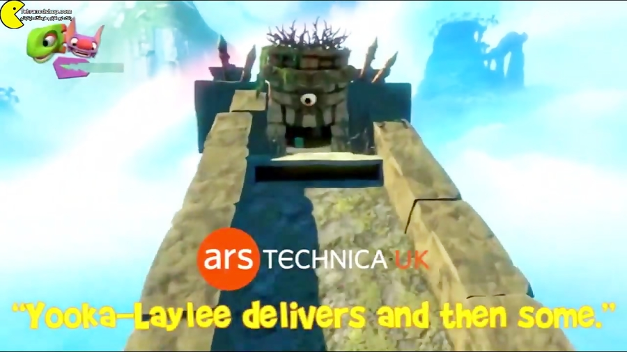 Yooka laylee gameplay trailer tehrancdshop.com تریلر و گیم پلی بازی یوکا و لیلی