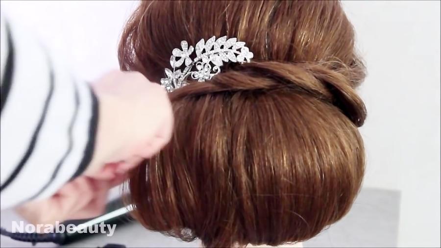 آموزش مدل موی زیبای زنانه برای عروس و عروسی