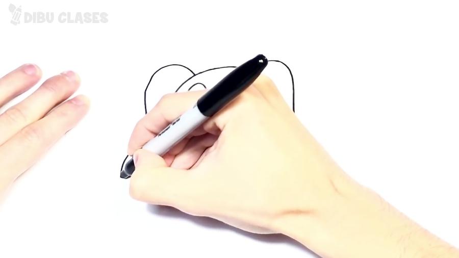 Cómo dibujar un Perro paso a paso | Dibujos Para Niños Pequeños