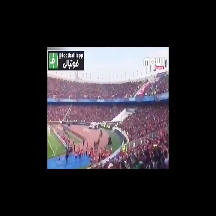 کنسرت محسن ابراهیم زاده در استادیوم آزادی لحظه ورود بانوان به ورزشگاه و گریه دخت