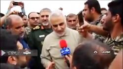 سخنان صریح سرلشکر قاسم سلیمانی در خوزستان